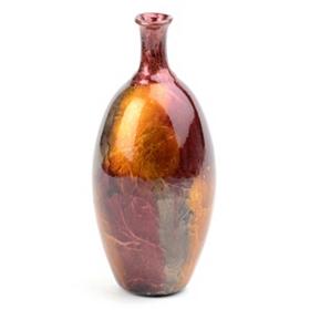 Purple Color Infusion Foil Vase