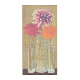 Mason Floral I Giclee Canvas Art Print