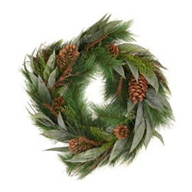 Eucalyptus & Juniper Wreath