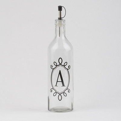 Monogram A Olive Oil Bottle