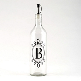 Monogram B Olive Oil Bottle