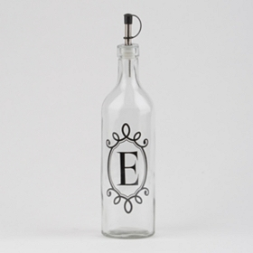 Monogram E Olive Oil Bottle