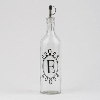 Monogram E Olive Oil Bottle