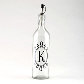 Monogram K Olive Oil Bottle