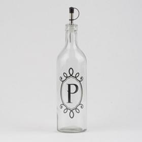 Monogram P Olive Oil Bottle