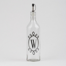 Monogram W Olive Oil Bottle