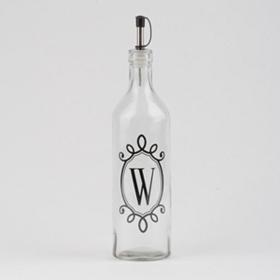 Monogram W Olive Oil Bottle