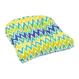 Cool Chevron Outdoor Chair Cushion