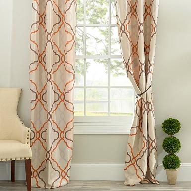 Taupe Gatehill Curtain Panel Set, 95 in. | Kirklands