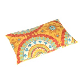 Sunset Plaza Outdoor Lumbar Pillow