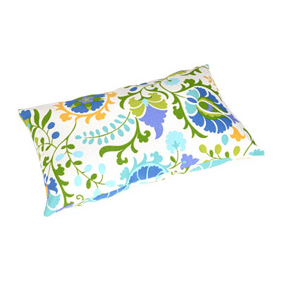 Opal Bloom Outdoor Lumbar Pillow