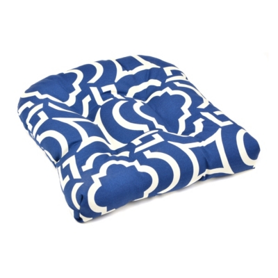 Navy Paros Outdoor Seat Cushion