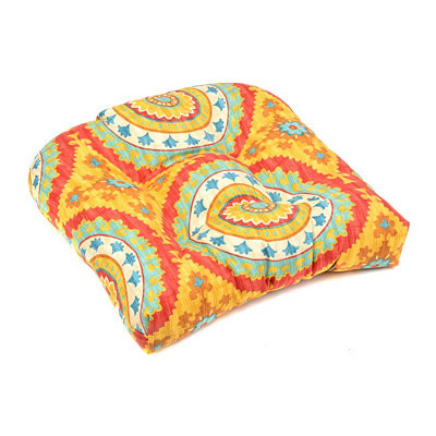 Sunset Plaza Outdoor Seat Cushion