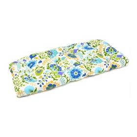 Opal Bloom Outdoor Settee Cushion