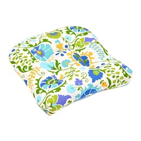 Opal Bloom Outdoor Seat Cushion