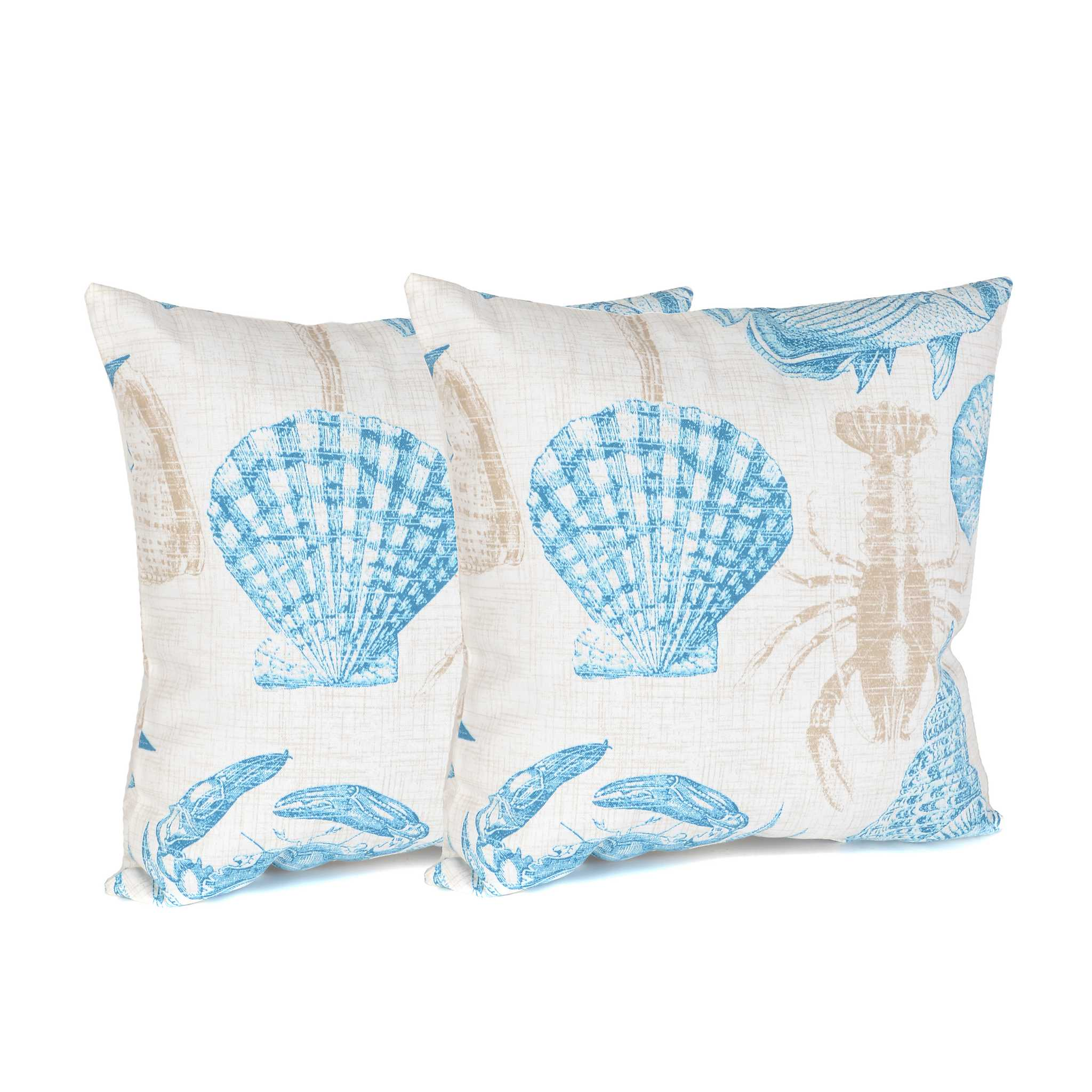 Turquoise Marina Outdoor Accent Pillows, Set of 2 Kirklands