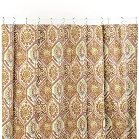 Jaya Cotton Twill Shower Curtain