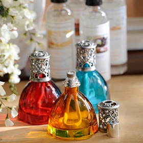 Colored Glass Fragrance Lamp