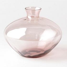 Purple Luster Glass Vase