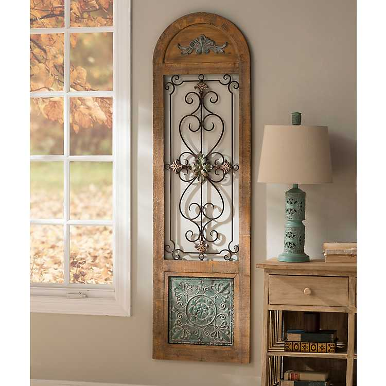 Kirkland Home Metal Wall Art Decor ~ Adelicia arch wall panel kirklands