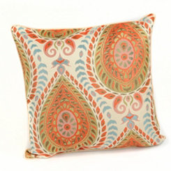 Divine Paisley Accent Pillow