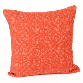 Dalia Red Accent Pillow