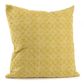 Dalia Green Accent Pillow