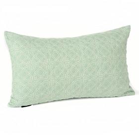 Dalia Aqua Oblong Accent Pillow