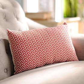 Grammy Tomato Oblong Accent Pillow