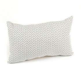 Grammy Powder Oblong Accent Pillow