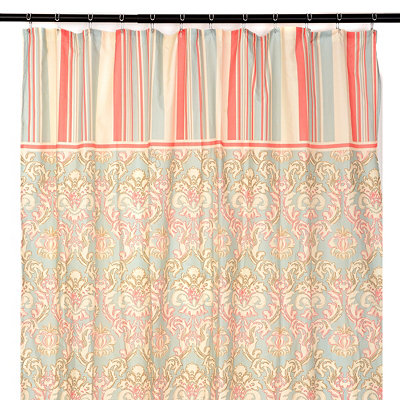 Classic Curves Shower Curtain