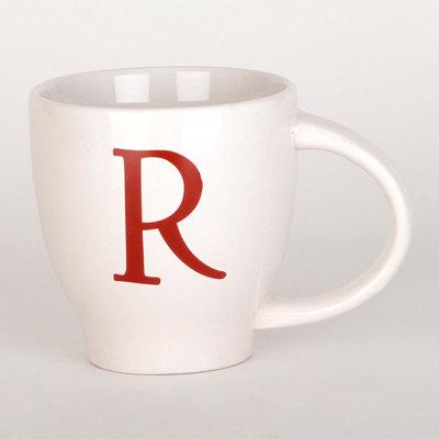 Red Monogram R Mug