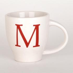 Red Monogram M Mug