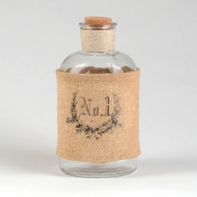 Burlap No. 1 Corked Bottle