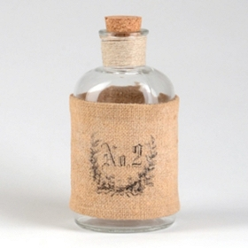 Burlap No. 2 Corked Bottle