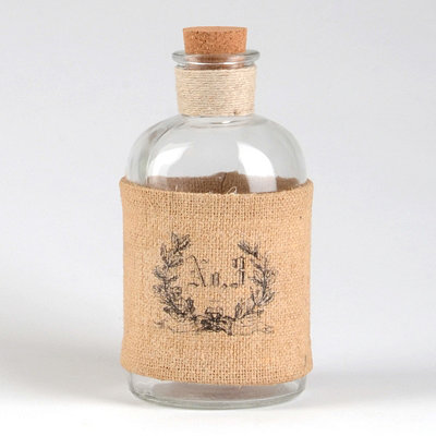 Burlap No. 3 Corked Bottle