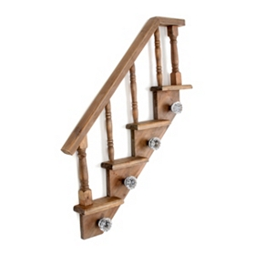 Honey Staircase Wall Hook