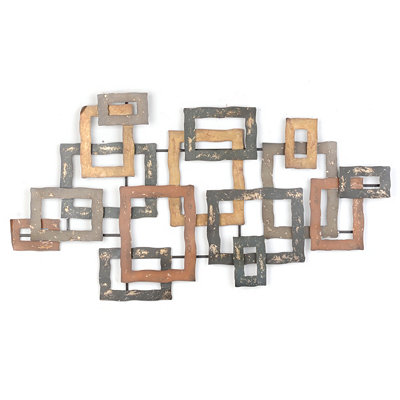 Squared Layers Wall Plaque