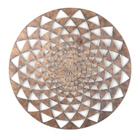 Kaleidoscope Metal Wall Art