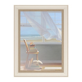 Summer Reading List Framed Art Print