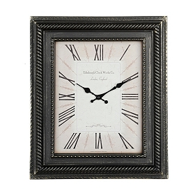Gold Dusted Black Piano Wall Clock