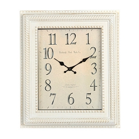 Gold Dusted White Piano Wall Clock