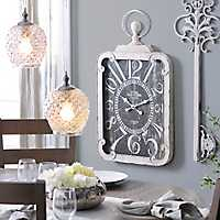 Margie Antique White Clock
