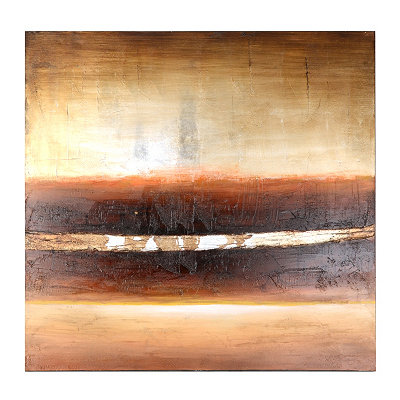 Abstract Horizon Canvas Oil Painting