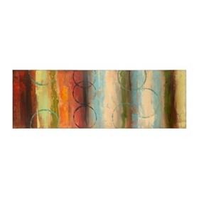 Diminishing Circles II Canvas Art Print