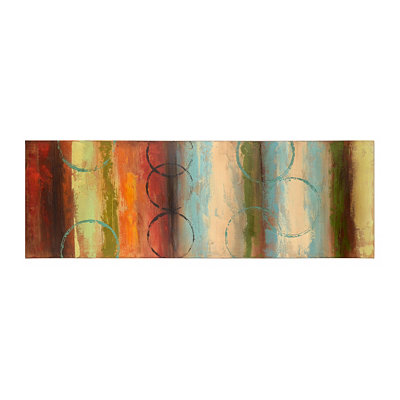Diminishing Circles II Canvas Art Print