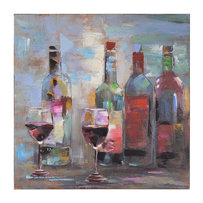 Transitional Wine Canvas Art Print
