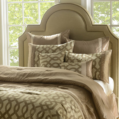 Taupe Gatehill 8-pc. Queen Comforter Set