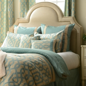 Blue Gatehill 8-pc. Queen Comforter Set