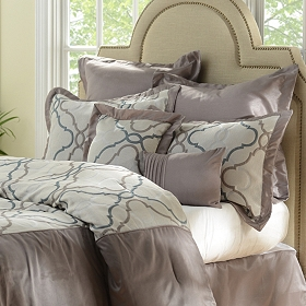 Charcoal Grand Manor 8-pc. Queen Comforter Set
